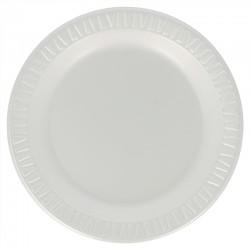 Assiettes laminées blanches...