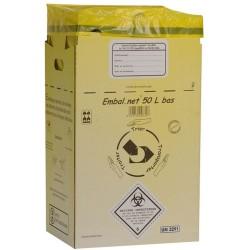 Carton collecteur DASRI 50L...